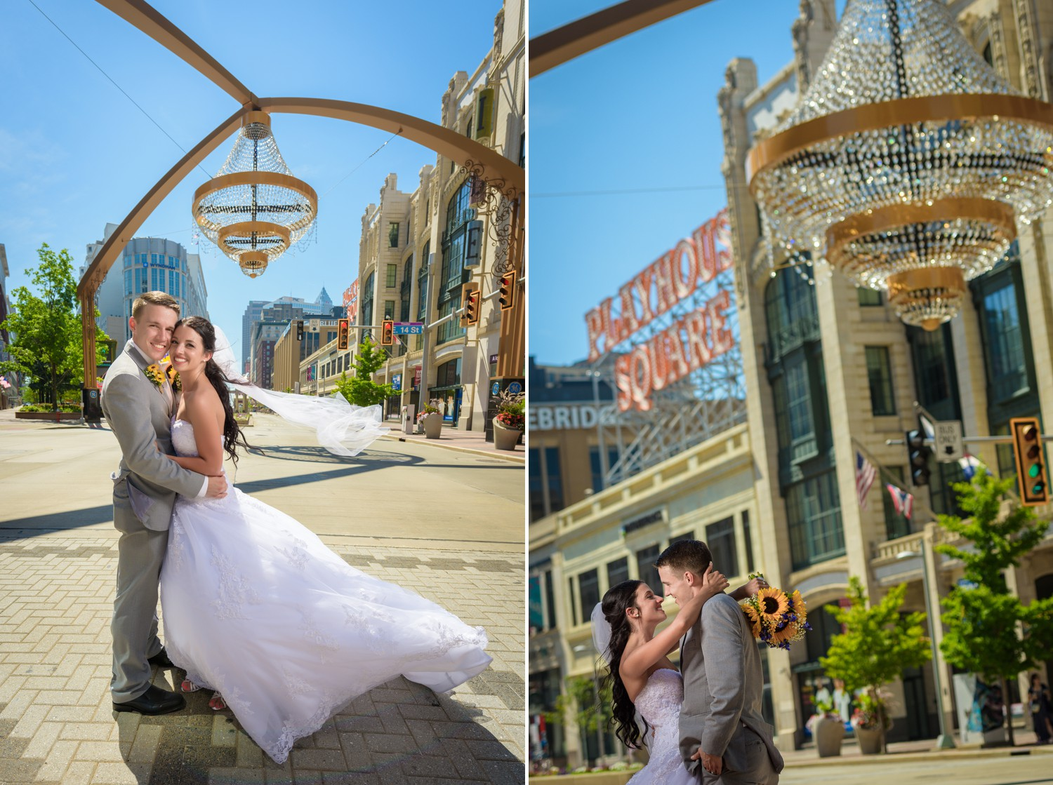 Playhouse Square Wedding