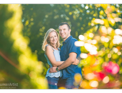 Engagement Session in Cleveland Cultural Gardens and Wade Oval | Laura and Brent
