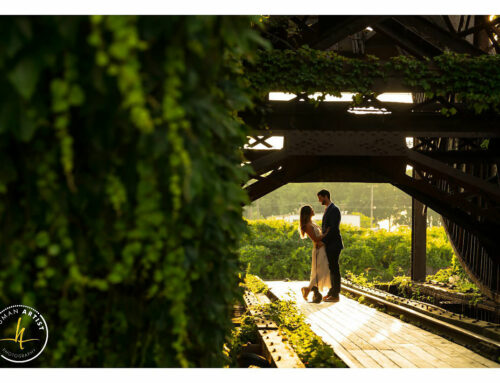 Cleveland Rocky River Engagement Session | Brigid and David